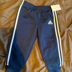 Brand new Adidas track pants size 12mo